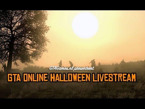 GTAGames.nl - GTA Online Halloween Livestream - Meeting donderdag 30 oktober 2014