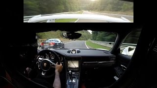 Porsche 991 GT3 - Battle with FAST BMW M3 E92 on Nürburgring Nordschleife (Onboard, 31.08.2016)