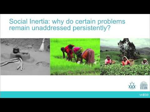 Grassroots Innovations for Inclusive Education - Anil Gupta - WISE 2013 Focus