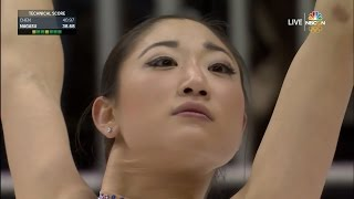 2017 US Nationals - Mirai Nagasu SP NBCSN HD
