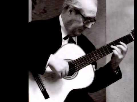 Segovia Plays Villa-Lobos Prelude no. 1 in e minor
