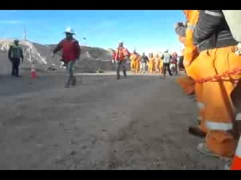 Parada Militar Mineros de chile 2013