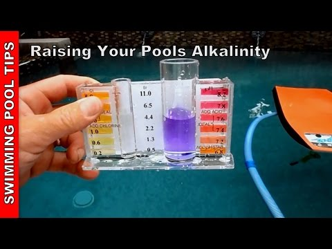 Alkalinity up baking soda raising your alkalinity youtube Swimming pool high alkalinity
