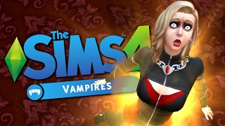 GRAND MASTER VAMPIRE CURE - The Sims 4 Funny Story #3