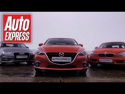 Mazda 3 Vs Audi A3 Bmw 1 Series Group Test
