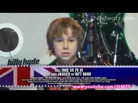 Jagger (Kid Drummer) - Australia s Got Talent 2012 Semi Final! - FULL