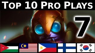 Dota 2 Top 10 Pro plays 7 - STYLE PLAYS !