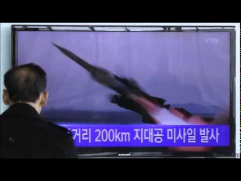 North Korea Test Fires 7 Surface-to-Air Missiles