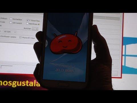 Cómo actualizar samsung Galaxy Note 2 GT-N7100 de  4.1.2 a 4.3 Jelly Bean [Rooteada]