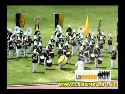 Colegio Antonio Jose de Sainz XIII concurso nacional de bandas 2009 cochabamba