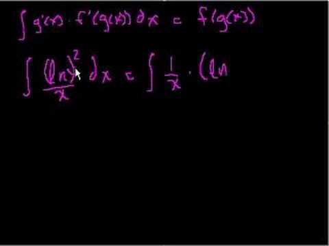 Indefinite Integration (part III)