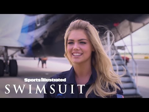 Kate Upton's 2014 Zero Gravity Photo Shoot | Sports Illustrated Swimsuit video