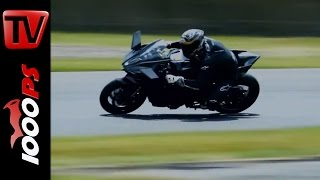 Kawasaki Ninja H2 R- First Tracktest + Sound