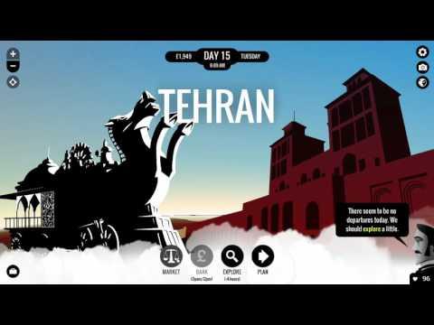 Let's Play 80 Days - Part 5 Tehran Iron Horse