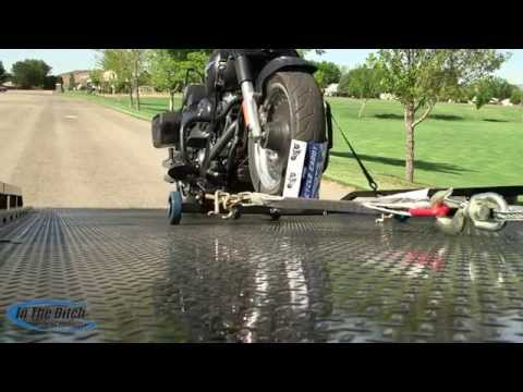 In The Ditch's Cycle Caddy Motorcycle Loader Instructional Video