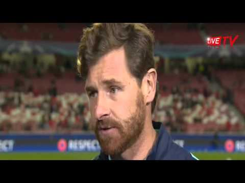 ANDRE VILLAS-BOAS   Zenit Coach Talking before match  Zenit vs Benfica Champions League 2016