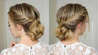 Fishtail French Braid Updo | Missy Sue