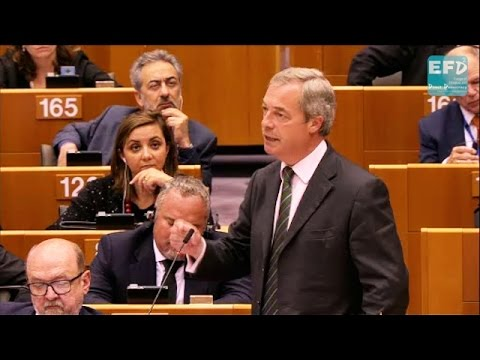 Nigel Farage first speech post-Brexit vote: You're not laughing now