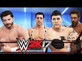 BROTHER AGAINST BROTHER - WWE 2k17 Gameplay