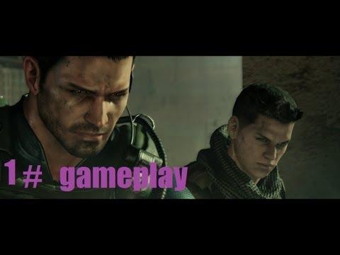 Resident Evil 6  (chris redfield) gameplay HD Por MAGAMER