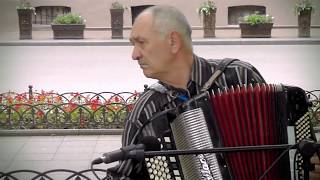 Старые патриотческие песни на баяне, Одесса / Old Patriotic Songs on the Accordion, Odessa