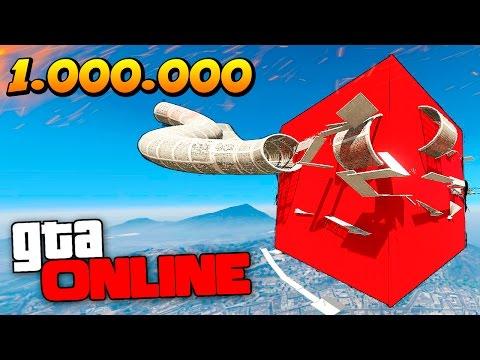 BMX ПАРКУР В ВОЗДУХЕ И НАС 1.000.000 В GTA 5 ONLINE