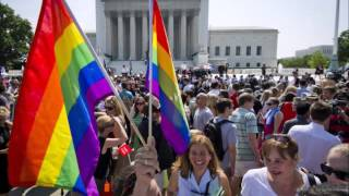 American supreme court rules same sex marriage legal in all states of the nation