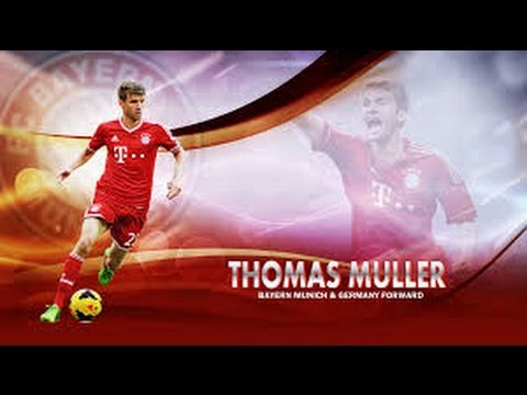 Thomas Müller●Goals●Skills●Assists●2015●16●Bayern