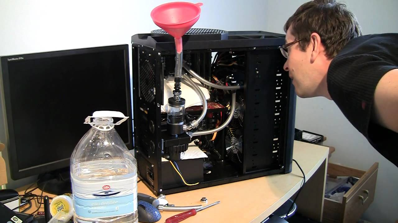 How To Fill Watercooling Loop And Leak Test The System - Low Cost Build  Part 9