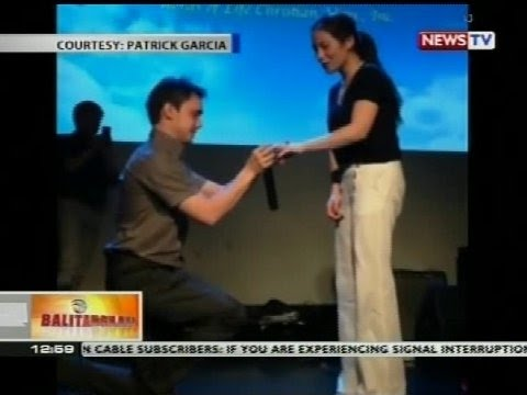 Bt: Patrick Garcia, Engaged Na Sa Non-showbiz Girlfriend video