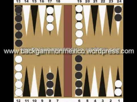 Backgammon tutorial en español 1 de 6