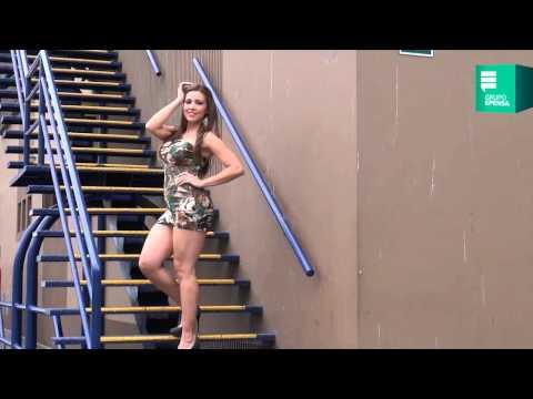 Lucecita en Backstage para sesión de fotos de Aja.pe
