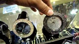 Mr. Chris Da Jeweler Lab Diamond Techno Pave Custom Watches ( $69.99 )