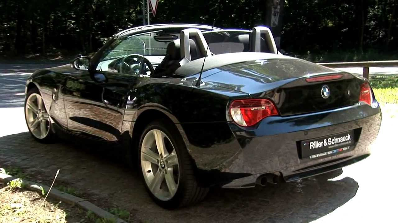 bmw z4 roadster e85 als gebrauchtwagen youtube. Black Bedroom Furniture Sets. Home Design Ideas