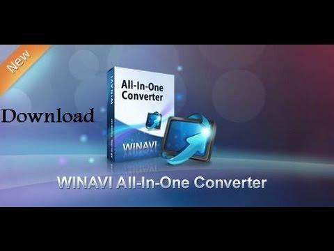اسهل طريقة لتحميل برنامج Winavi All In One Converter video