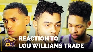 Luke Walton, Players React To Lakers Trading Lou Williams