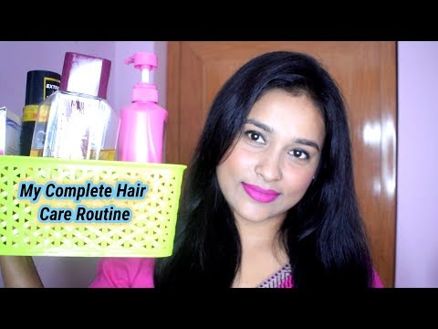 My Complete Hair Care Routine For Shiny And Healthy Hair