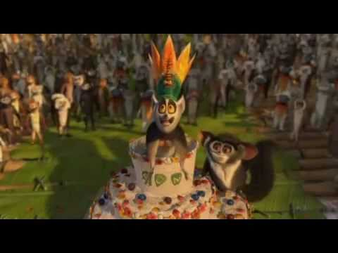 Best of Madagascar 2 - King Julian Mash Up Part 1