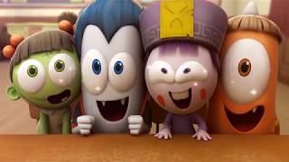 웃기는 애니메이션 만화 | Spookiz 프랭클린 식료품 점 악몽 | 어린이 만화