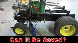 John Deere 318 with a Failing  Onan engine, will it run?