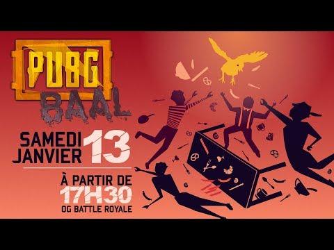 FRANCE vs ALLEMAGNE sur PUBG !