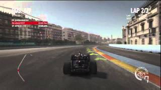 F1 2010 Online Race #4 - Valencia