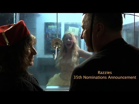 35TH RAZZIE NOMINATION ANNOUNCEMENT