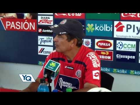 Pinto sobre lesión de Alvaro Saborio