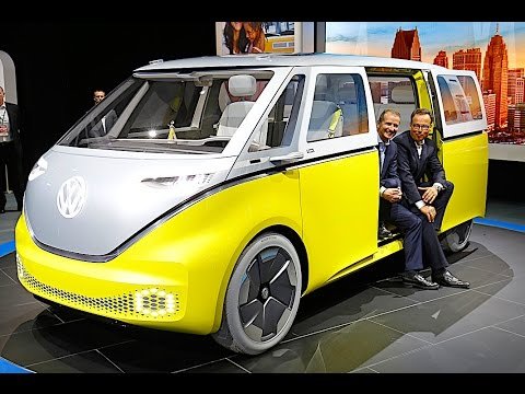 VW ID BUZZ REVIEW 2018 VW Campervan 2018 Electric VW ID REVIEW 2017 CARJAM TV HD