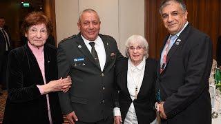 Holocaust survivor reunion: Mirosława Gruszczyńska reunion with survivor Miri Amir