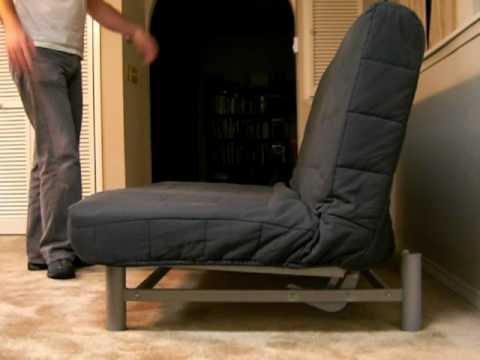 Ikea Beddinge futon in action