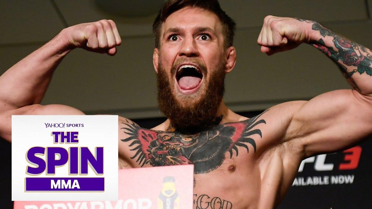 McGregor + Khabib Weigh In | #TheSpinMMA