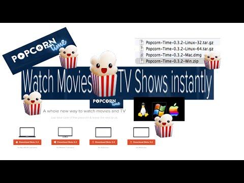 Popcorn Time App Mac Windows Linix Free TV & Movies on PC