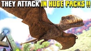 JURASSIC WORLD DIMORPHODONS ATTACK IN MASSIVE PACKS!!  | JURASSIC ARK [S2 EP10]